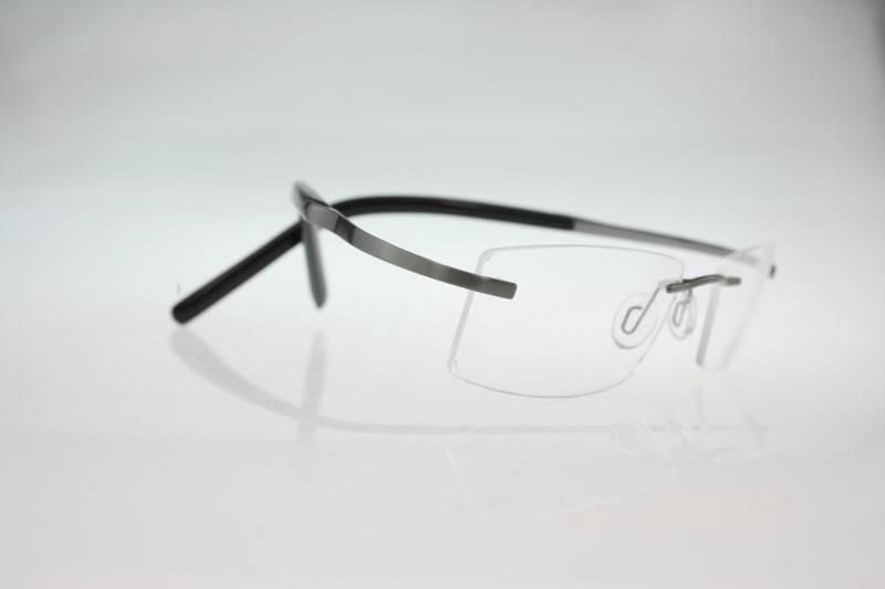 Rimless Screwless Eyeglass Frames : Flexible Betta titanium rimless RX eyeglasses Spectacle ...