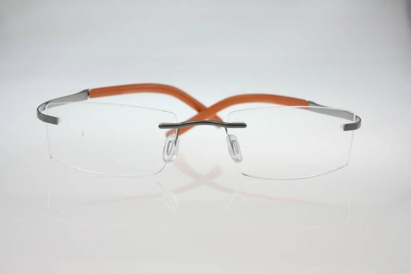 NEU Randlos brille Titan Brillenfassung Unisex Herrenbrillen Damenbrillen 8429