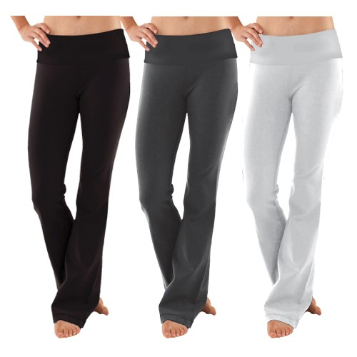 Women-Soft-Comfy-Cotton-Spandex-Yoga-Sweat-Lounge-Gym-Sports-Athletic-Pants