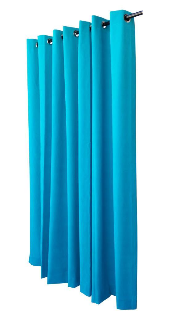 Turquoise 72 H Velvet Curtain Panel W Grommet Top Eyelets Window Treatment Drape Ebay