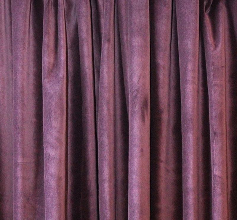 Purple Velvet Curtain 96 H Acoustic Noise Sound Reducing Thermal Drape Panel Ebay