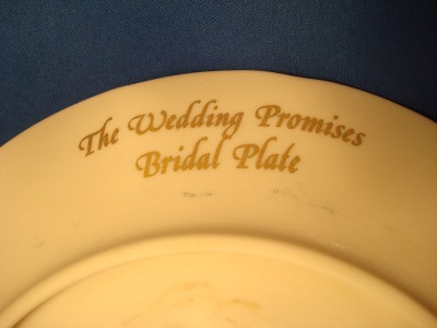 Wedding Gift Calculator : Wedding Gift Calculator on Lenox Wedding Promises Bridal Plate Bride ...