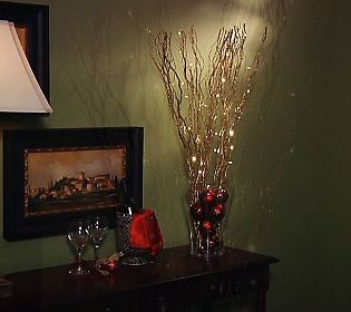 details about bethlehem lights battery operated glitter twig branchesw. Black Bedroom Furniture Sets. Home Design Ideas