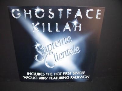 Ghostface Killah Rap Hip Hop Promo Album Poster Flat