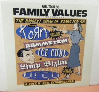 family values over all Find helpful customer reviews and review ratings for family values tour '98 at amazoncom read honest and unbiased product reviews from our users.