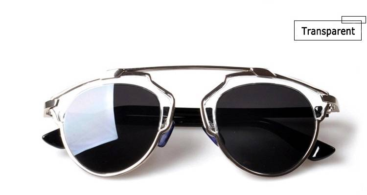 Cat Eye Designer Sunglasses  mirrored lenses so real women sunglasses designer cat