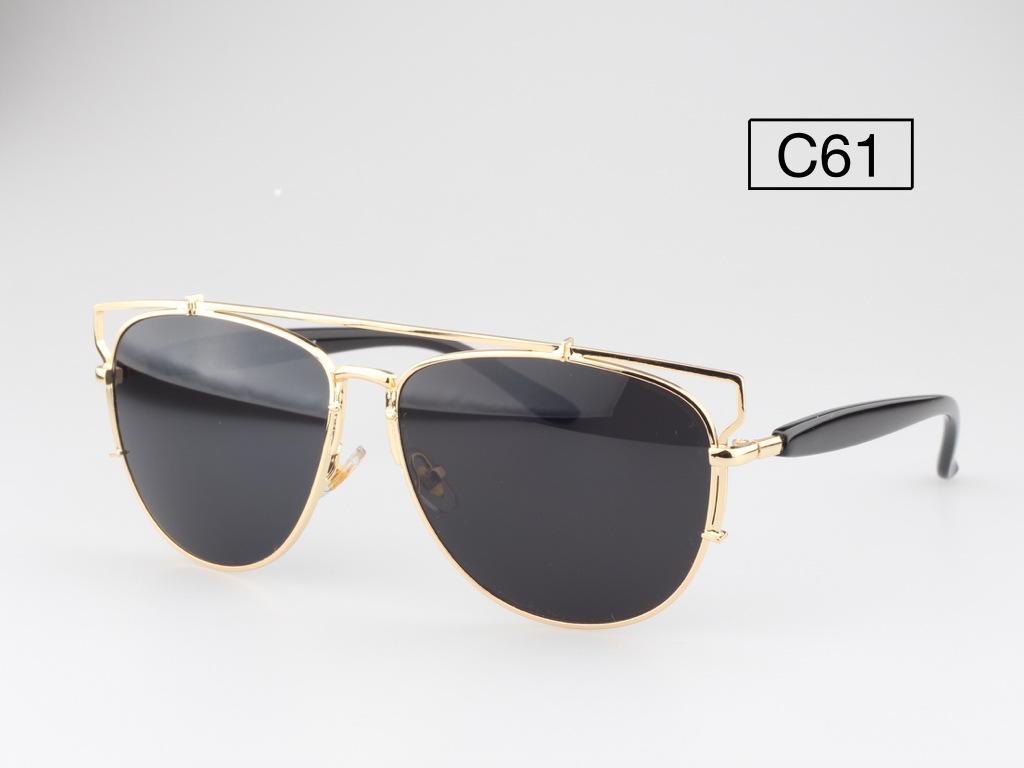 So Technologic Mirrored Lenses Women Sunglasses Christian Designer CD Futuristic