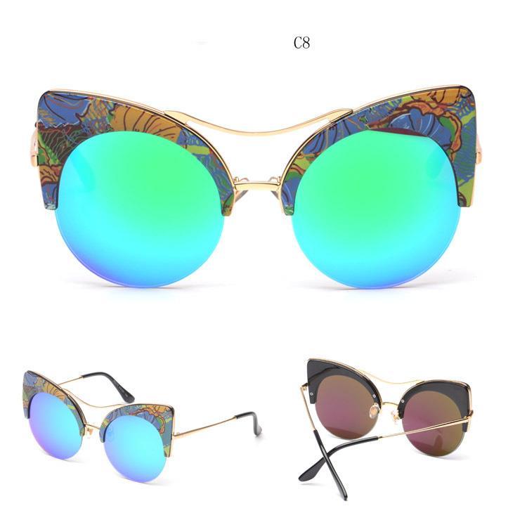 ALLEY CAT Brand New Gentle Women Monster Sunglasses Designer Cat Eye
