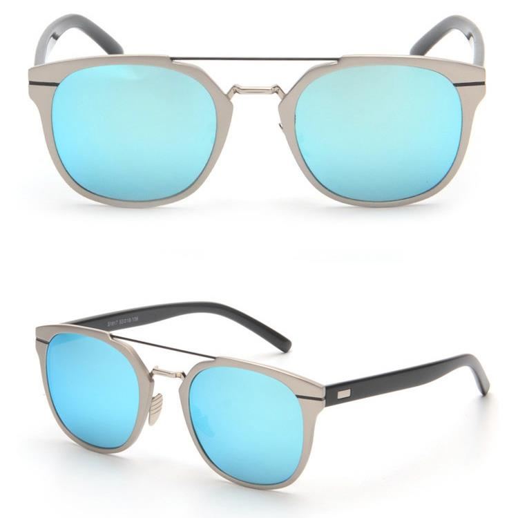 designer mirrored sunglasses f5ex  AL13-5-Mirrored-Lens-Men-Women-Sunglasses-Christian