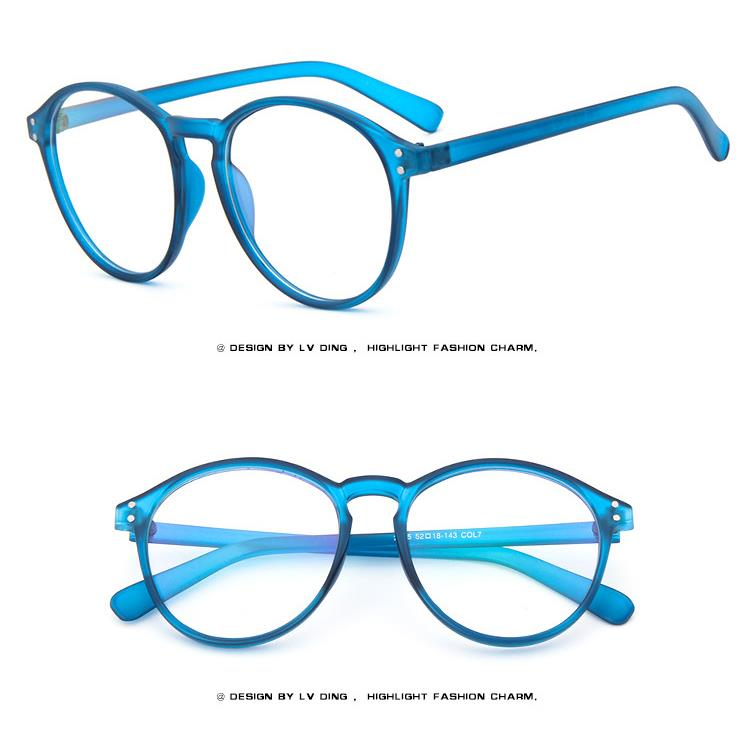 Acetate Eyeglasses Frame : Round Fashion Retro Acetate Vintage Men Women EYEGLASSES ...