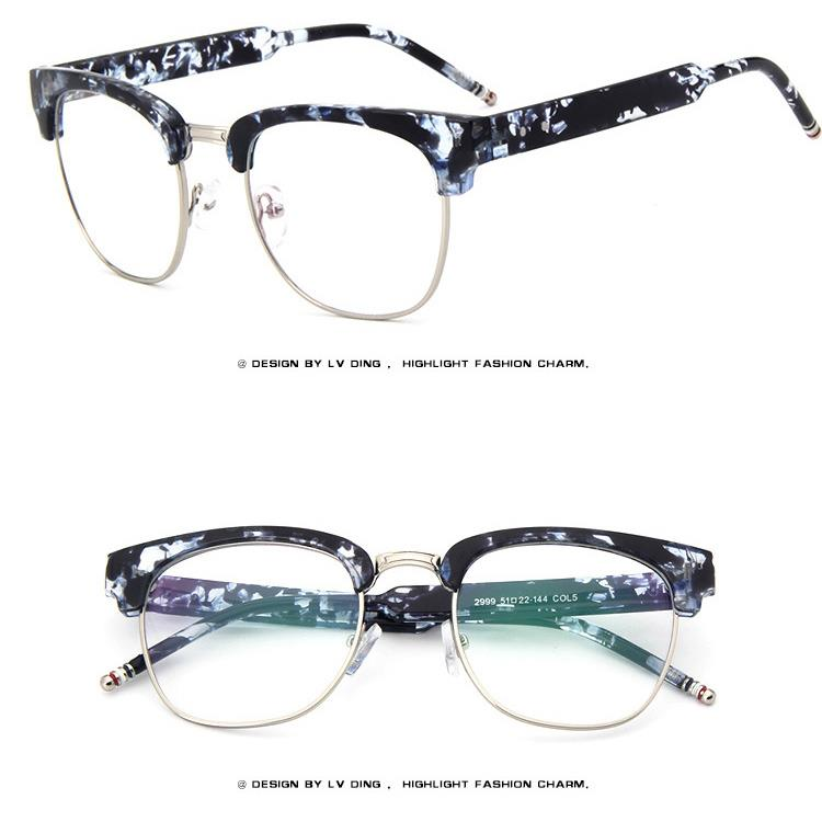 Glasses Frames With Thick Arms : Bold Thick Rim Retro Acetate Vintage Men Women EYEGLASSES ...