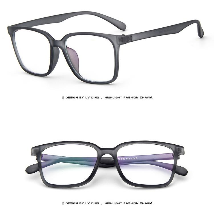 Eyeglass Frames Square : Square XL Size Retro Acetate Vintage Men Women EYEGLASSES ...
