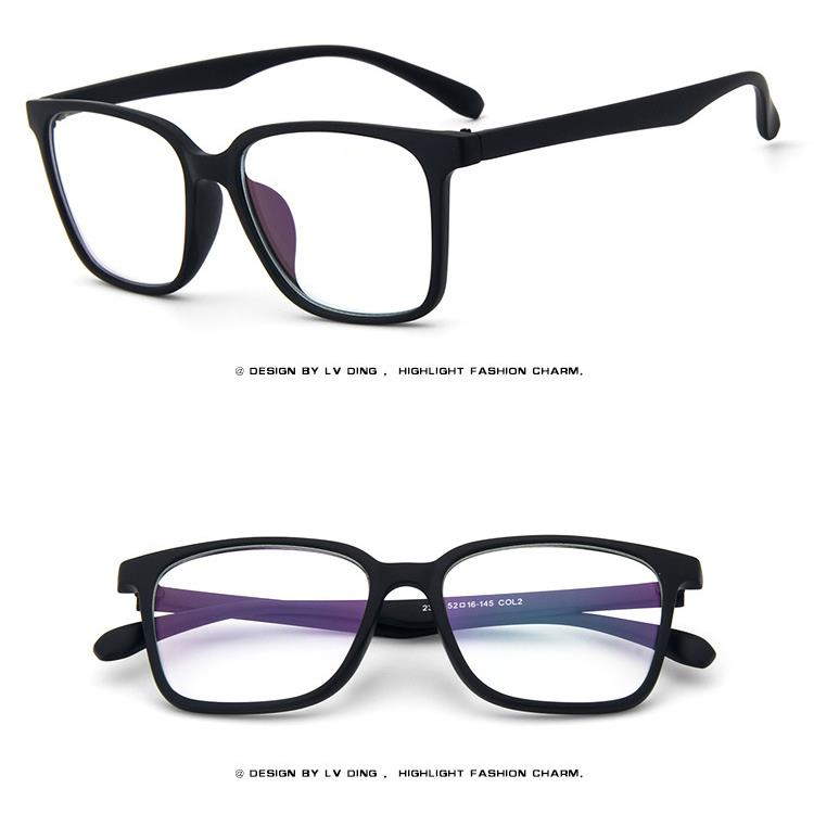 Glasses Frames Xl : Square XL Size Retro Acetate Vintage Men Women EYEGLASSES ...