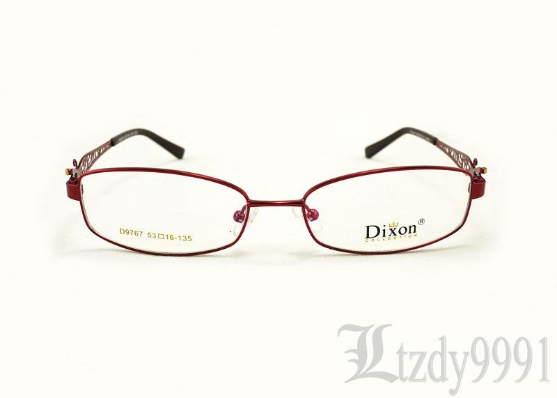 Eyeglass Frames For Narrow Bridge : Hollow Metal Narrow Oval Full Rim EYEGLASSES FRAMES Women ...