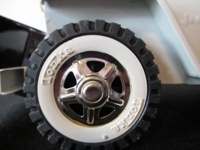 Vintage Tonka AA Snow Plow Wrecker Jeep Convertible Tin Toy Truck