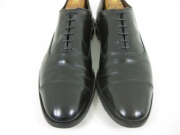 Allen Edmonds PARK AVE Black Cap Toe Dress Shoes Oxfords 13 B Narrow $