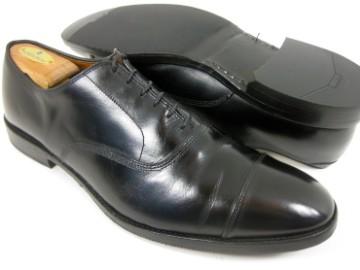 Allen Edmonds PARK AVE Black Cap Toe Dress Shoes Oxfords 13 B Narrow $
