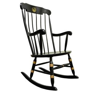 ... College University Nichols & Stone Windsor Rocking Chair Rocker  eBay