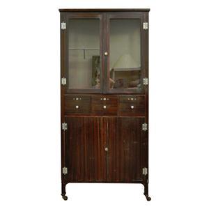 antique steel metal dental cabinet bathroom storage