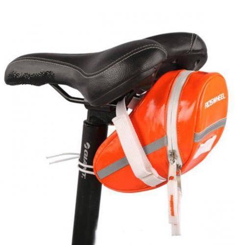 Cycling-Bike-Seat-Saddle-Seat-post-Bag-Fixi-Roswheel-Green-Orange-Black-Blue
