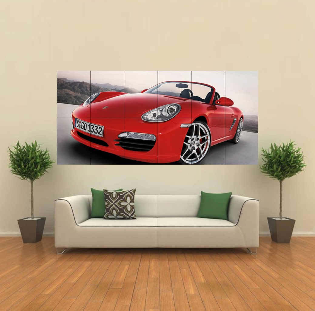 Automotive wall art automobile furniture on pinterest for Auto decoration parts