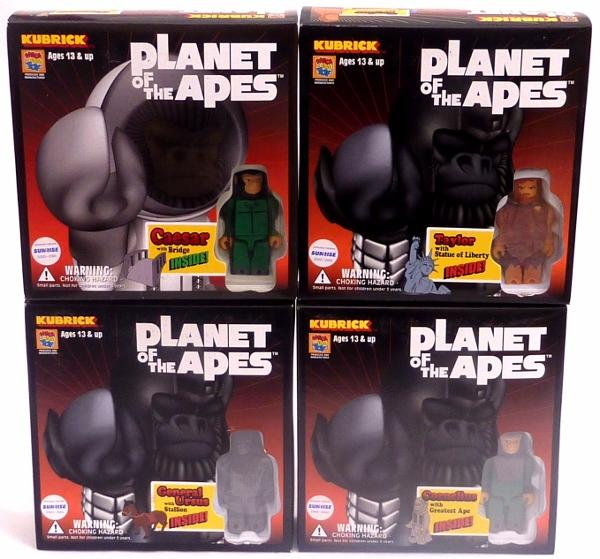 Planet-of-the-Apes-Japanese-Medicom-Kubrick-Sets-Lots-to-Choose-Take-Your-Pick