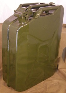 Jeep Style Plastic Gas Cans http://www.ebay.com/itm/NEW-EUROPEAN-MILITARY-STYLE-20-LITER-5-GALLON-JERRY-GAS-CAN-COMES-W-SPOUT-/360639515880