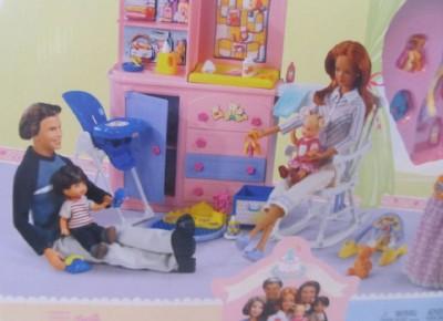 Happy Family Midge Hubby Barbie Alan Black Shoes 1st