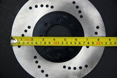 220mm Stainless Steel Disc Brake Rotor ATV Go Kart NEW