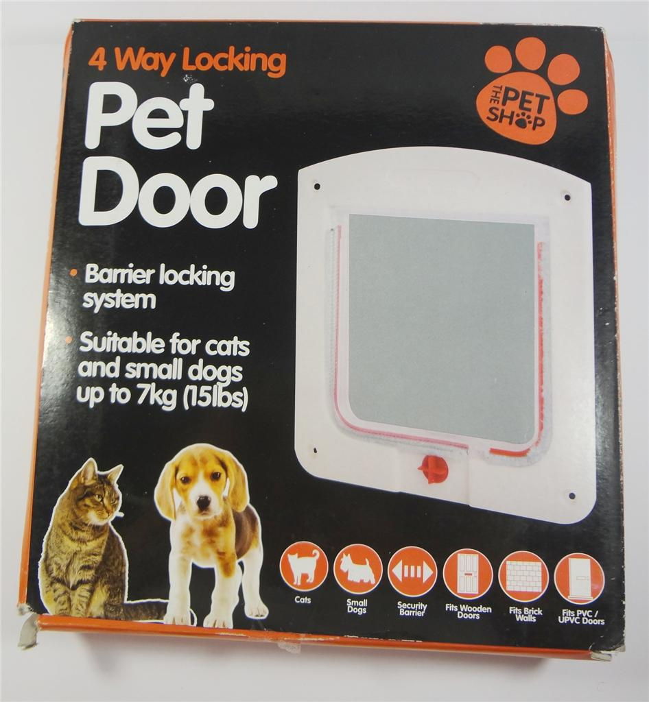4 way lockable Cat Door