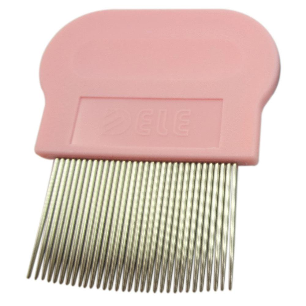 Flea Comb for Cats Kittens - Pink