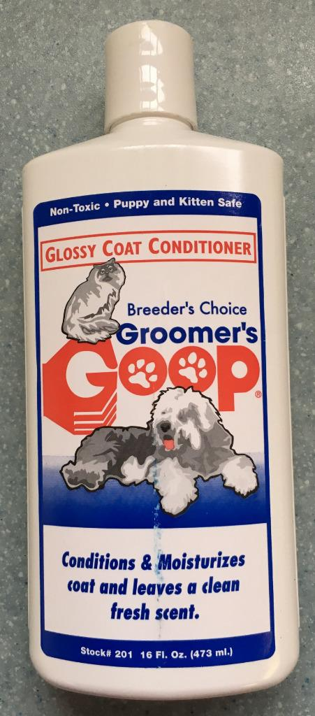 Conditioner Cats Kittens Grooming Dogs Groomers Goop Nontoxic Safe Liquid 473ml