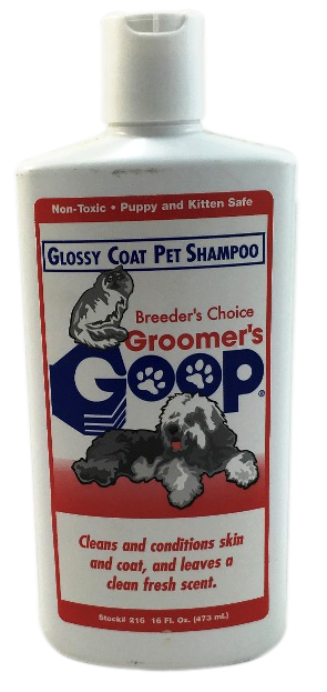 Shampoo Cats Kittens Grooming Dogs Groomers Goop Nontoxic Safe Liquid 473ml