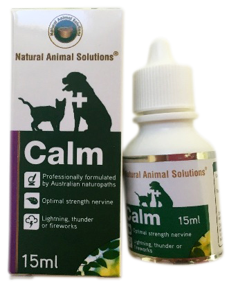 Anxiety Stress Cats Dogs Pet Calm Calming Relief Natural Animal Solutions 15ml