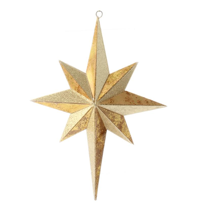 New raz quot gold or silver nativity star christmas tree