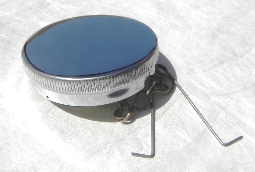 Vintage Gas Cap : New on sale chrome british style fuel gas cap vintage