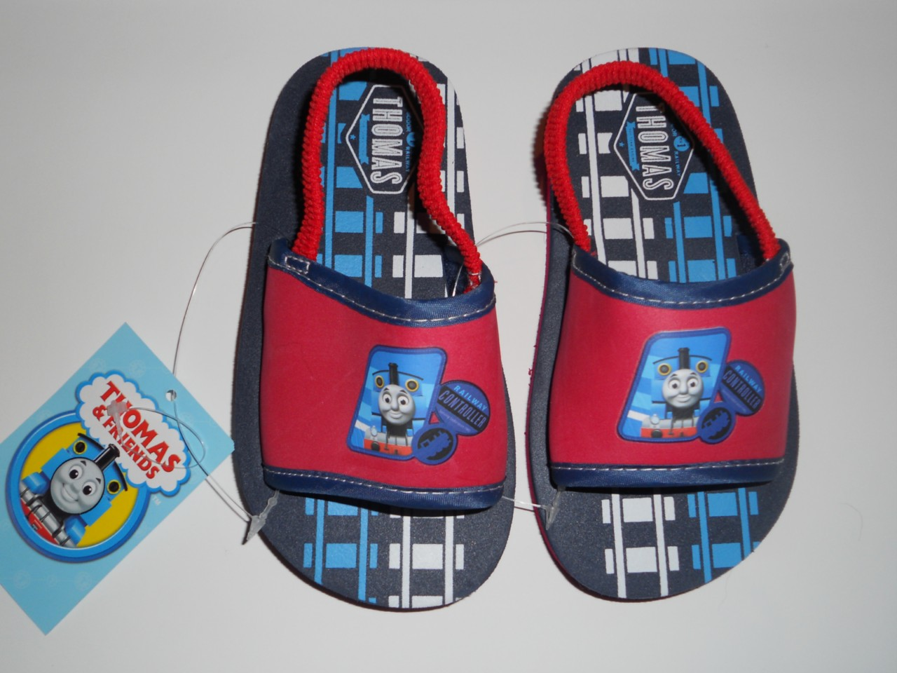 THOMAS-THE-TRAIN-5-6-7-8-9-10-SANDALS-Beach-Shoes