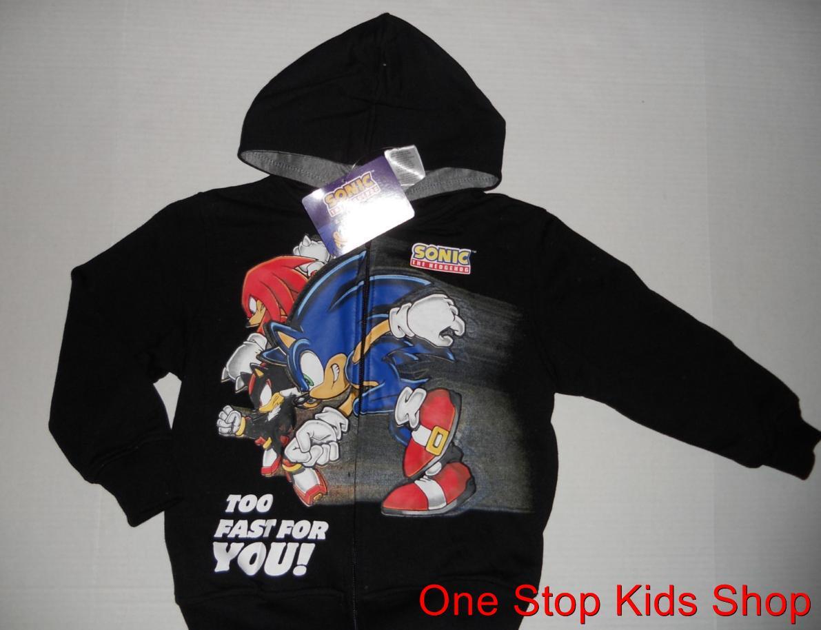 Sonic the hedgehog hoodies