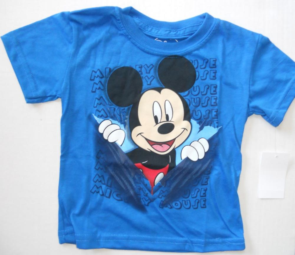 Mickey Mouse Toddler Boys 2t 3t 4t 5t Tee Shirt Short