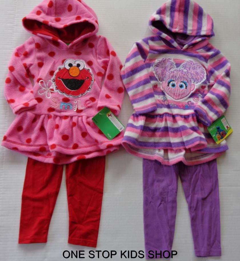 ELMO or ABBY CADABBY Girls 2T 3T 4T Hoodie Set OUTFIT Shirt Pants SESAME STREET in Clothing, Shoes & Accessories, Baby & Toddler Clothing, Girls' Clothing (Newborn-5T) | eBay