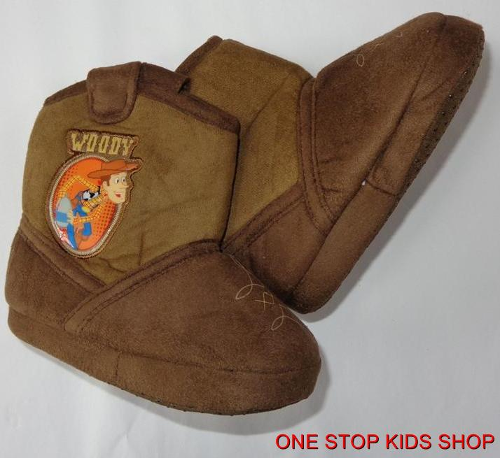Toy Story Boots For Boys : Woody toddler boys slippers shoes cowboy boots