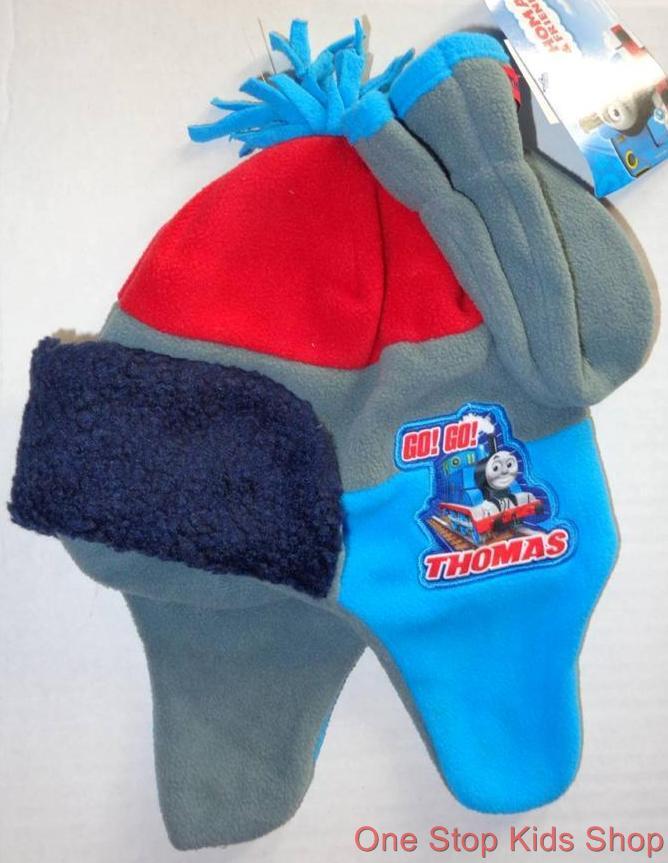 Thomas Train Toddler Boys Winter Set Hat Mittens