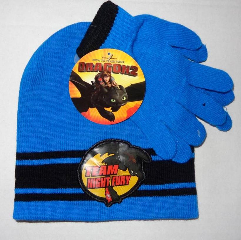 How To Train Your Dragon Toddler Boys Hat Amp Gloves Winter