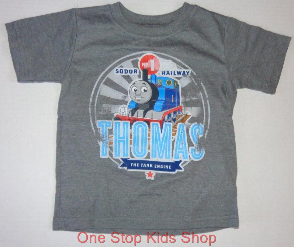 Thomas The Train Toddler Boys 2t 3t 4t Short Sleeve Tee