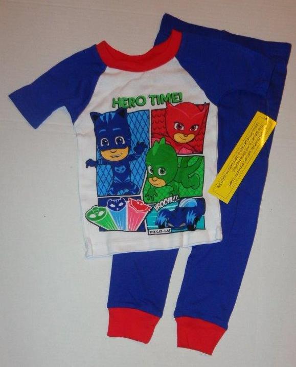PJ Masks Boys Saved The Day Short Sleeve Pyjamas | eBay