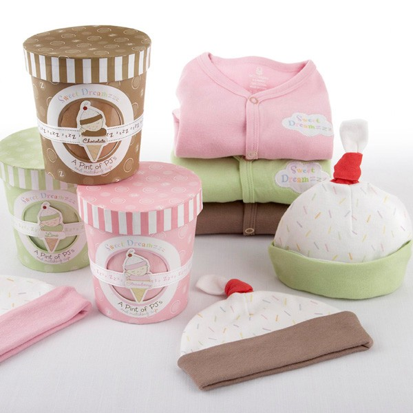 Personalized Baby Gift Sets : Sweet dreams monogrammed baby infant pajama sleep