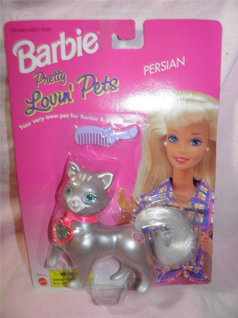 Siamese Cat//Kitten Barbie Pretty Lovin/' Pets NEW