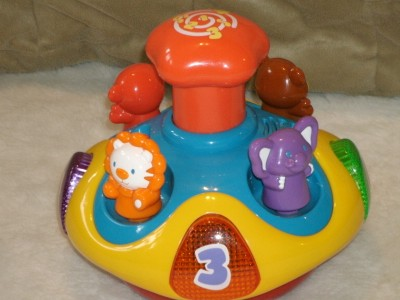 VTech Spin And Learn Top | eBay