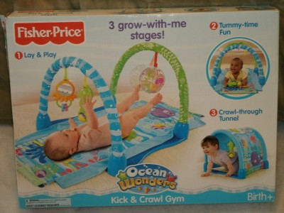 fisher price tunnel gym instructions