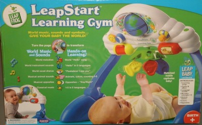 LeapStart Learning Gym AWESOME DEVELOPMENTAL Toy 5 ...